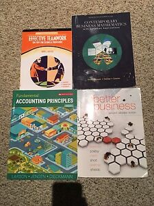 FLEMMING COLLEGE FIRST YEAR BUSINESS ADMIN TEXTBOOKS   Peterborough Peterborough Area image 1