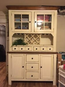 French country look cabinet.