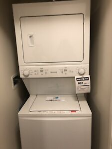 *Brand new, never used stacked washer/dryer!*