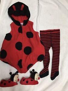 Sz 12 month lady bug costume