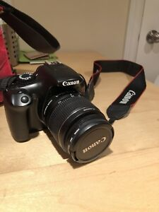Canon Rebel t3 with bag