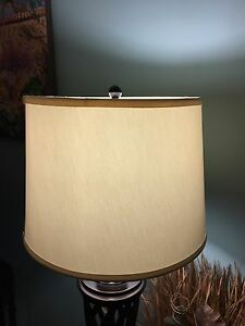 Cream white large lamp shade mint condition obo