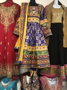 Afghan dresses and unstitched suites for females