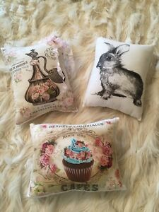 Cute mini pillows