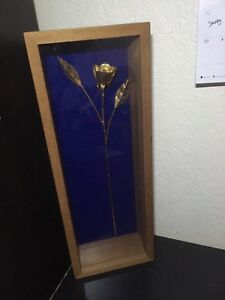 Golden rose decor for $10