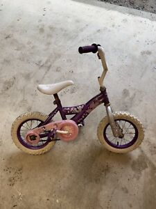 Small girls princess bike with Training wheels