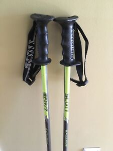Scott ski poles