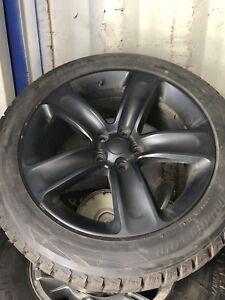 265-50-R20 Blizzak Winter Tires/wheels