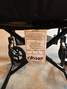 Drive medical aluminum transport chair  Kitchener / Waterloo Kitchener Area image 7