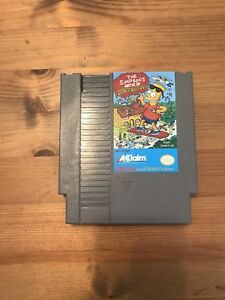 The Simpsons NES game