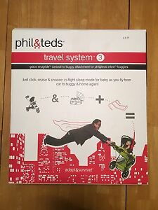 phil & teds travel system 3 - Graco