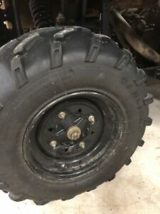 Wanted Polaris ATV TIRES WITH OUR WITHOUT RIMS