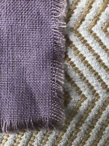 Violet burlap table runners (10) for Wedding