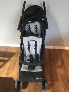 Summer 3Dtwo Double Stroller in excellent condition