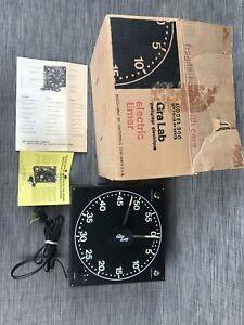 Mint CRA LAB Dark Room Electric Timer model 300 w/box manuals