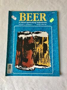 First volume of Beer Magazine