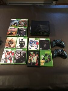 Xbox 360 320 GB with games