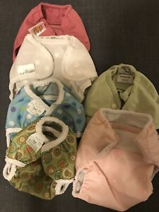 10 Cloth Diaper Covers Various Brands