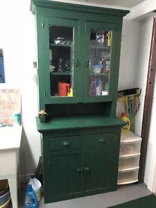 Antique Pantry Cabinet