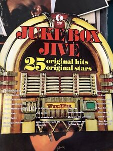 Juke Box Jive . 25 Original Hits lp