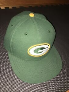 Green Bay Packers New Era Hat Size 7 New