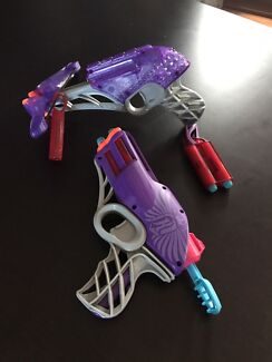 2 x Nerf Rebelle guns Aspley Brisbane North East Preview