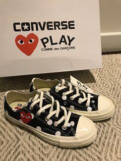 89490307719 Comme des Garcons Play polka Converse UK 4