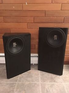Polk audio subs and boxes