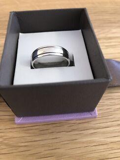 Men's White Gold Wedding Ring/Band