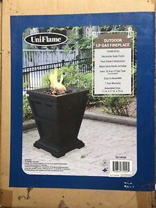 Outdoor LP Gas Fireplace