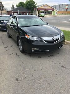 Acura 2012 Technology package (gps+radio sirius xm)