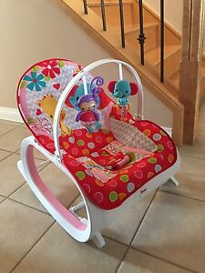 Infant-to-Toddler Rocker (with vibrations)
