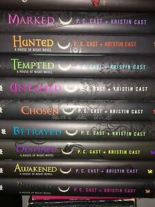 House of night books