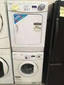 Samsung stackable washer and dryer set
