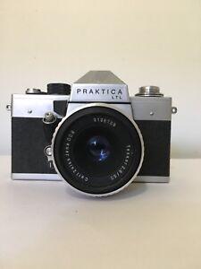 Vintage Praktica LTL Film Camera with Carl Zeiss 50mm 2.8 lens