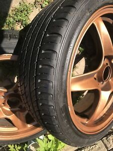 Low profile rims with new tires