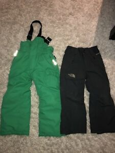 Boys north face & Etirel insulated snow pants
