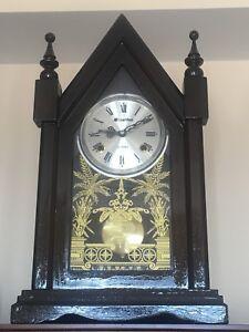 Wall mount Woden clock