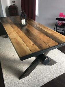Handmade Harvest table