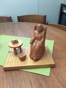 French Canadian woodcarving