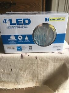 "4"" LED Recessed lighting"