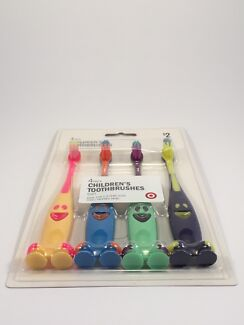 Pack of 4 Children's Toothbrushes