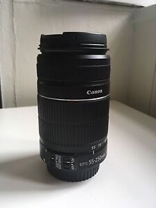 Objectif canon 55-250mm f4-5.6