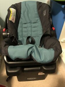Graco Click Connect Infant Car Seat with Base + Stroller!