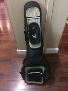 Padded soft backpack banjo case