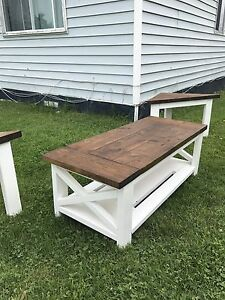 Handcrafted Rustic tables