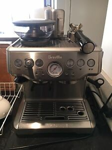 Breville BES870 Barista Espresso Coffee Machine Sydney City Inner Sydney Preview