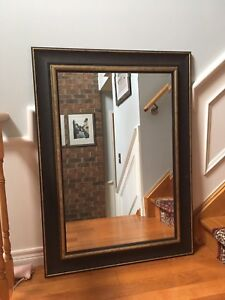 Large elegant mirror - wall mounted or leaning