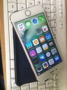 Apple I Phone 6 pink   16 gig état parfait Unlocked
