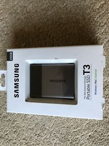 New Samsung SSD 250 GB portable